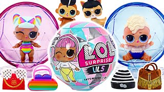 Let's go to the party with Little Roll! LOL Surprise Winter lils Unboxing!   PinkyPopToy