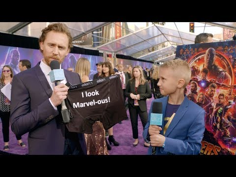 Kid Movie Expert Britton Walker Goes to the 'Avengers: Infin