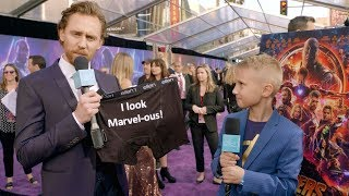 Download Kid Movie Expert Britton Walker Goes to the 'Avengers: Infinity War' Premiere Mp3 and Videos
