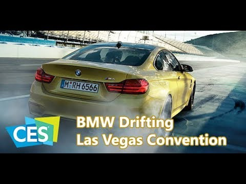 CES 2018 | BMW Drifting at Las Vegas Convention Center