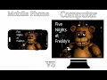 """PC vs Mobile"" Fnaf 1 Comparison"
