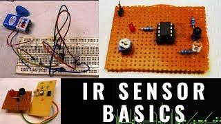 HOW TO USE IR SENSOR [ WITH BASICS ]