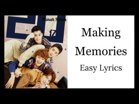 Making Memories - F4 (Easy Lyrics)