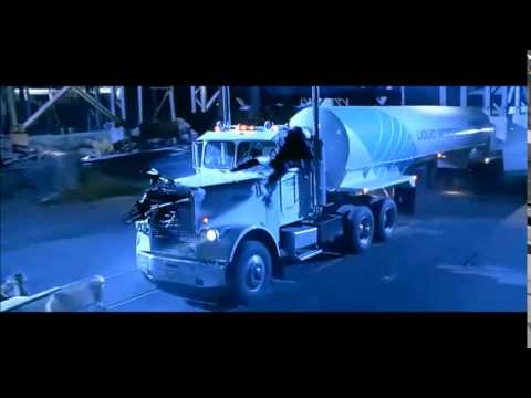 Free Car History Report >> Terminator 2 - Tanker Chase - Point Blank - YouTube