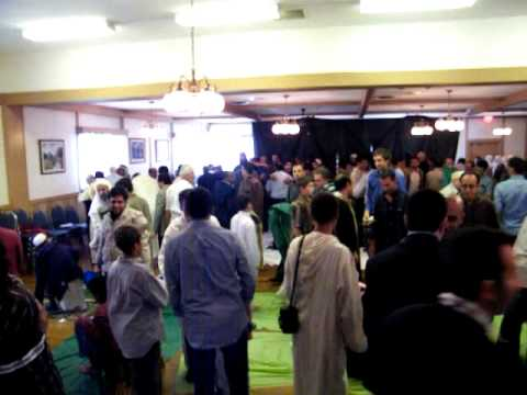 الدكتور  ضاري العاصي  صلاة العيد  كولونا 2009 -13-