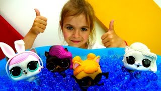Лол: Cоревнования ЛОЛ Петс. Куклы Лол - Мультики для девочек
