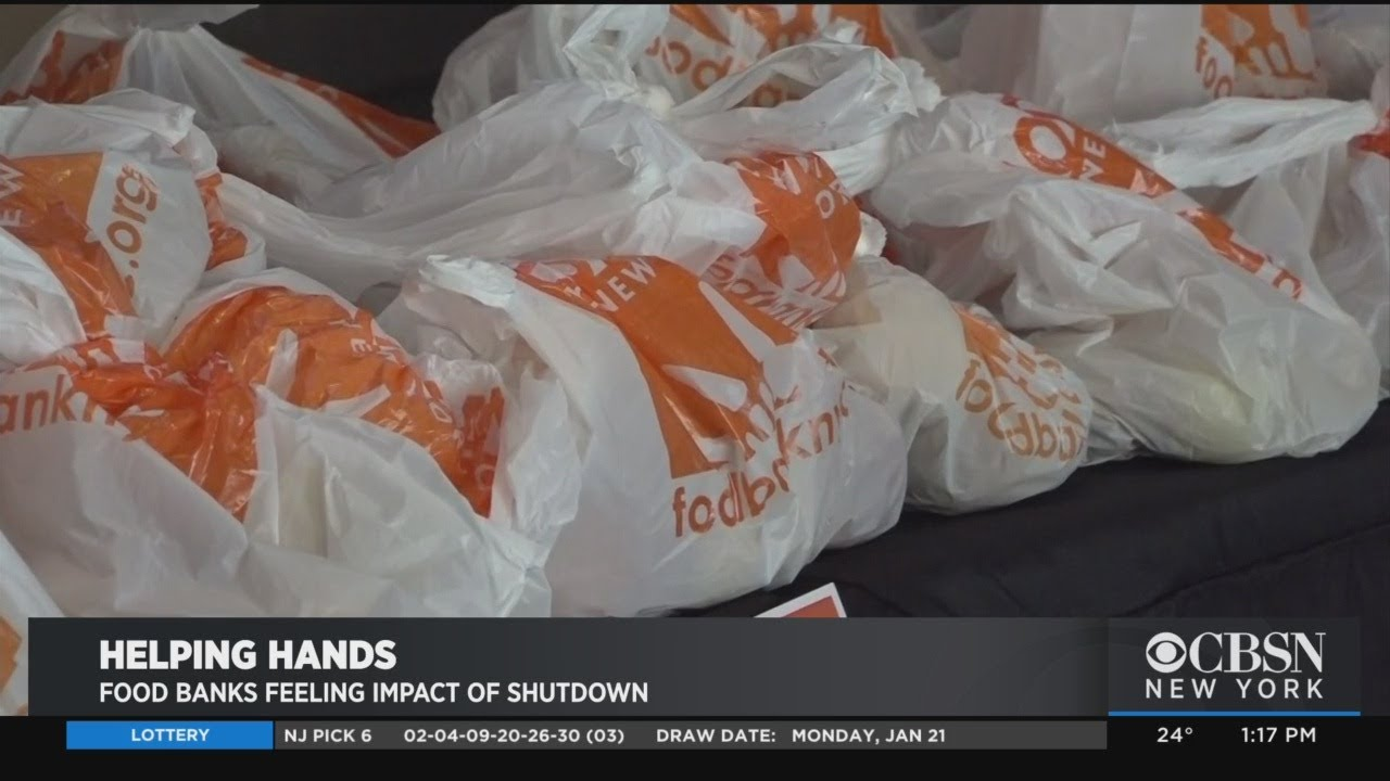 Food Bank For New York City Helping Furloughed Government Employees