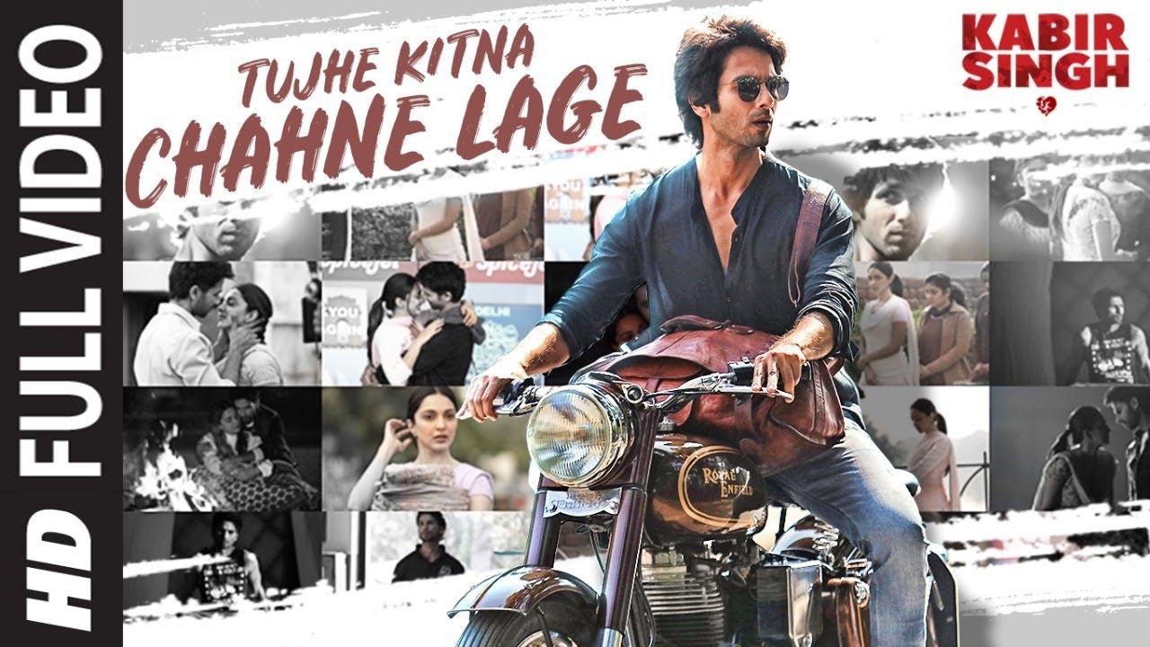 Tujhe Kitna Chahne Lage Lyrics Kabir Singh Arijit Singh