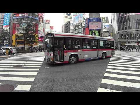 Shibuya crossing Tokyo and surrounding area FPS hd walking video