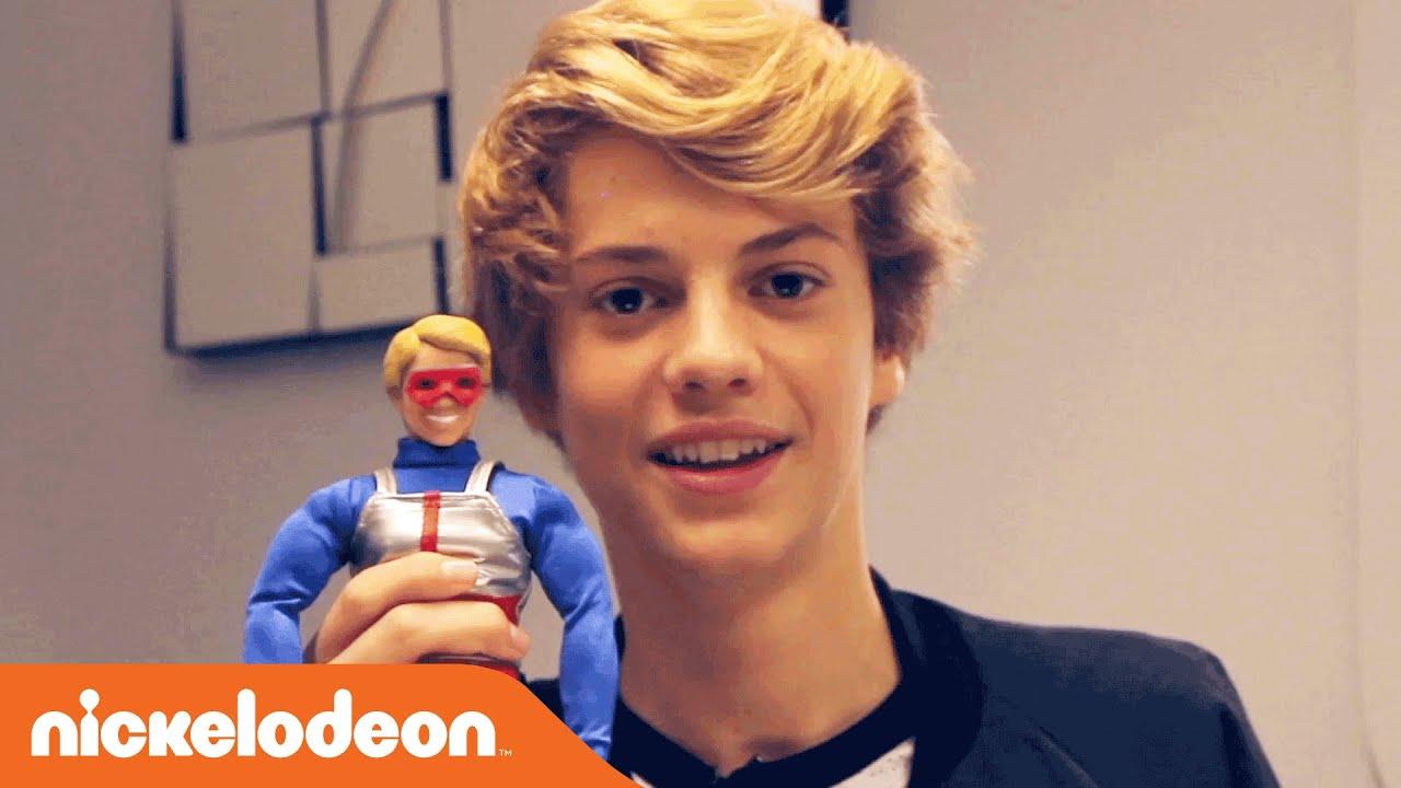 Kids Toys Action Figure: Jace Norman Unboxes Kid Danger Action