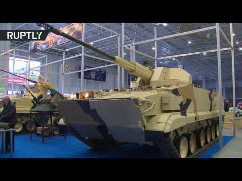 Designers and manufacturers showcased their developments at 2nd Russian Military Robotics Conference