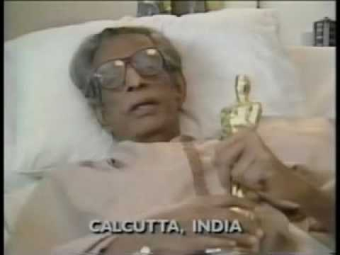 Satyajit Ray Receives Oscar