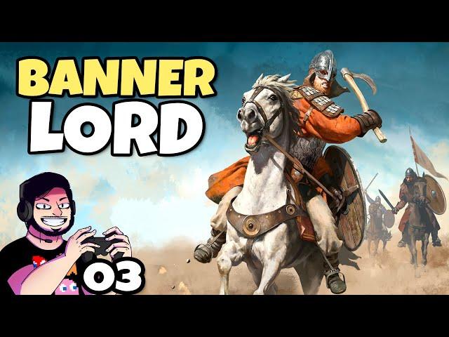 Virando MERCÉNARIO, Vassalo NUNCA! #03 (Bannerlord) // Gameplay Português