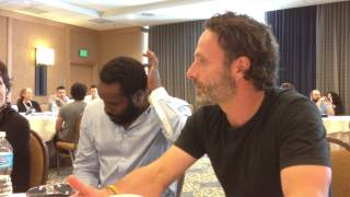 Walking Dead at SDCC 2013 with Andrew Lincoln, Chad Coleman, Gale Anne Hurd, and David Alpert! Thumbnail