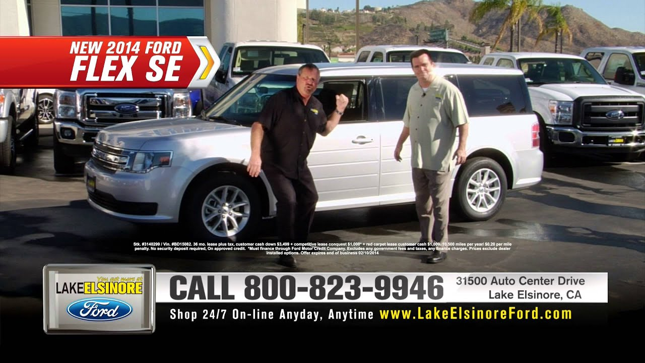 Lake Elsinore Ford New 2013 Ford F 150 and New 2014 Ford Flex