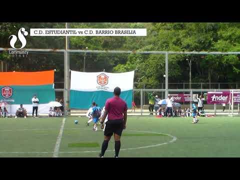 C.D. ESTUDIANTIL vs BARRIO BRASILIA (goles)