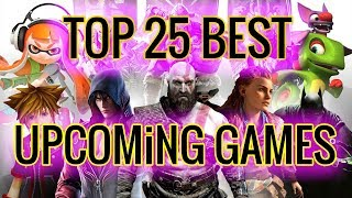 TOP 25 BEST Upcoming Games of 2018 & 2019 (E3 2018)