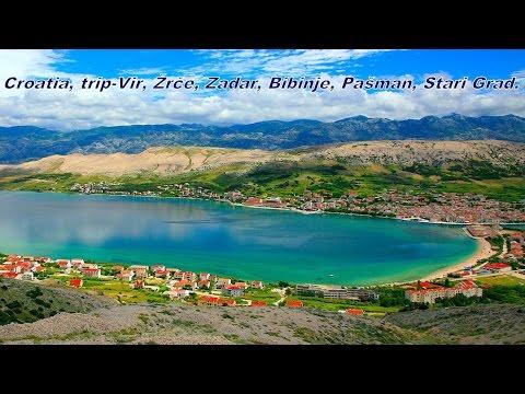 Croatia boat trip Vir, Žrče, Zadar, Bibinje, Pašman, Stari Grad