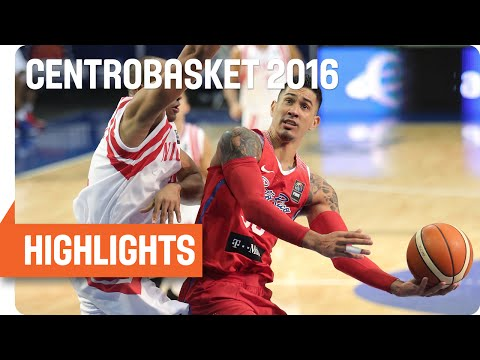 Nicaragua (NCA) v Puerto Rico (PUR) Game Highlights - Group A - 2016 FIBA Centrobasket Championship