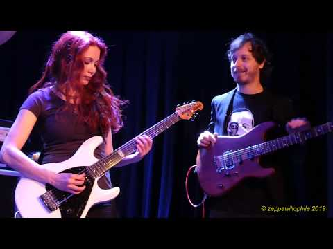 【Gretchen Menn Trio】 Brush With The Blues (by Jeff Beck) (Sweetwater Music Hall - 7/19/19)
