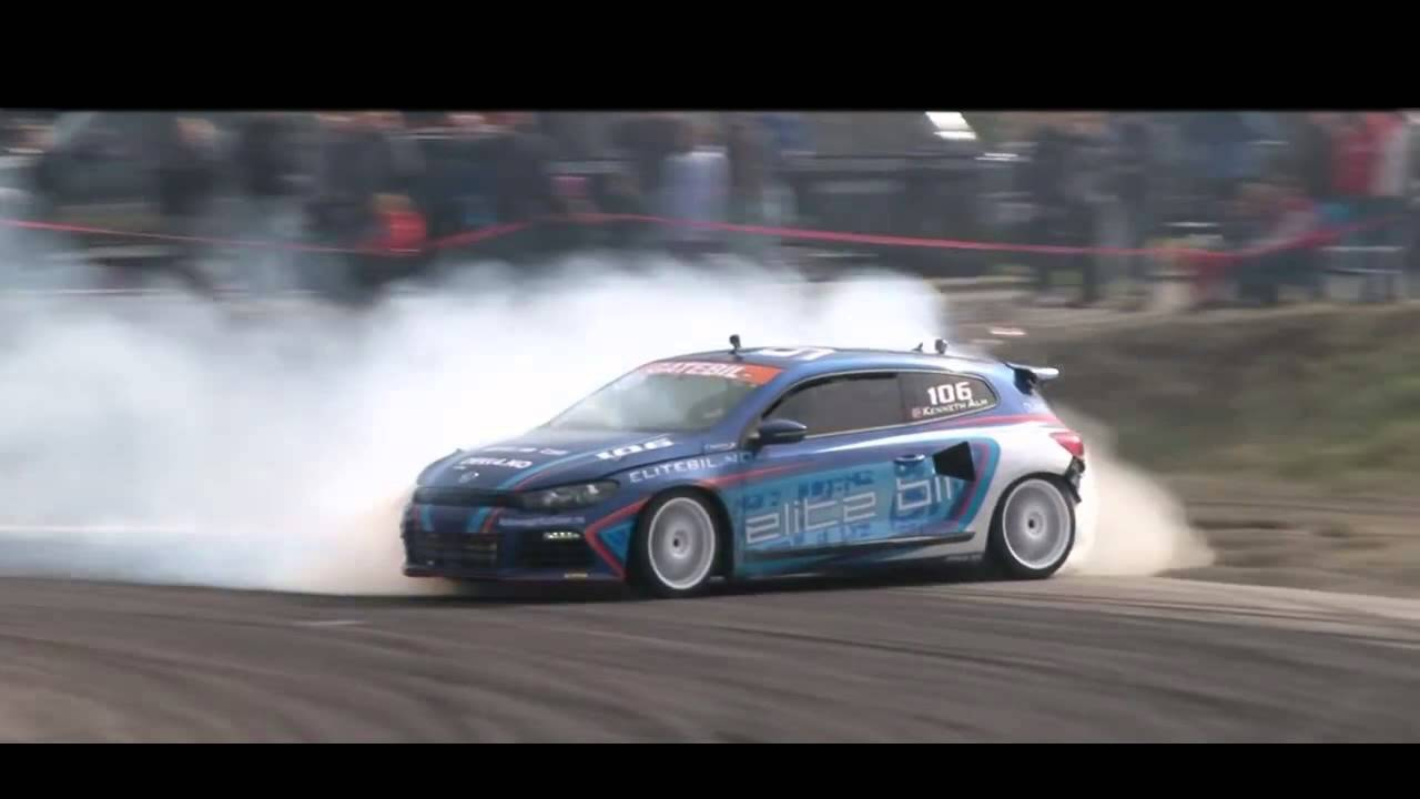 Best Drift Vw Scirocco Youtube