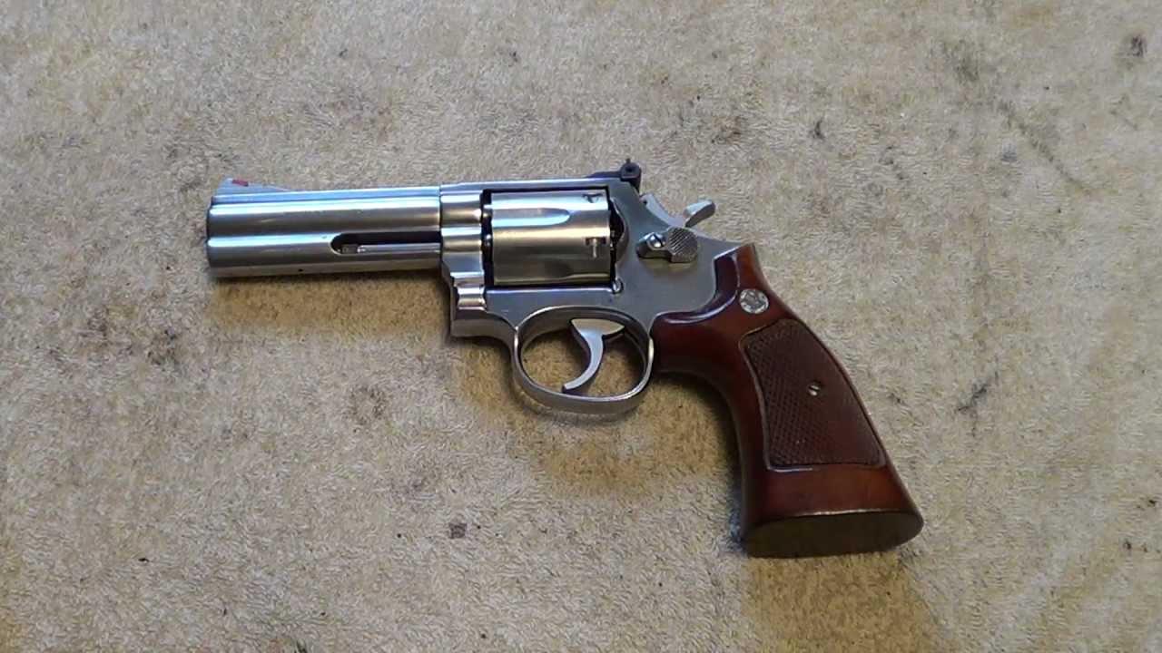 smith wesson model 686 357 magnum revolver youtube. Black Bedroom Furniture Sets. Home Design Ideas