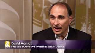 Political Strategist David Axelrod Touts The Power of Youth
