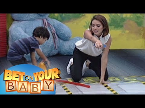 Bet On Your Baby: Baby Dome Challenge with mommy Nicole and baby Eisner