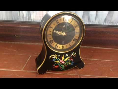 Swiss Reuge musical clock