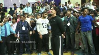 TIGER SHROFF LIVE STUNTS TRAINING FOR BHAGGI