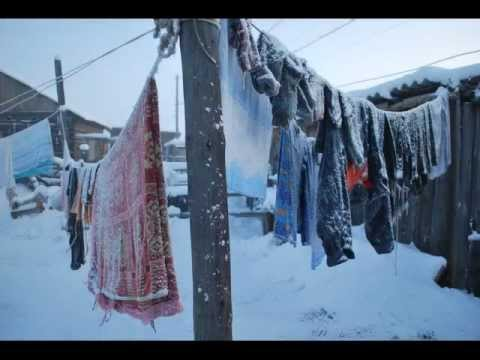 Cold Winter Weather Travel to Oymyakon, Russia's Siberia. 103's Sakham Sire song