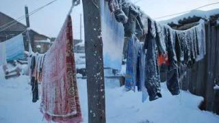 Cold Winter Weather Travel to Oymyakon, Russia