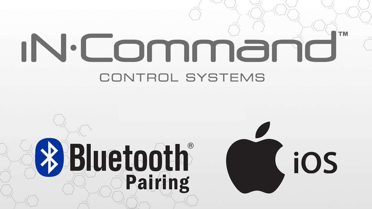 Incommand how to pair your ios device jrvcs1 youtube incommand how to pair your ios device jrvcs1 sciox Choice Image