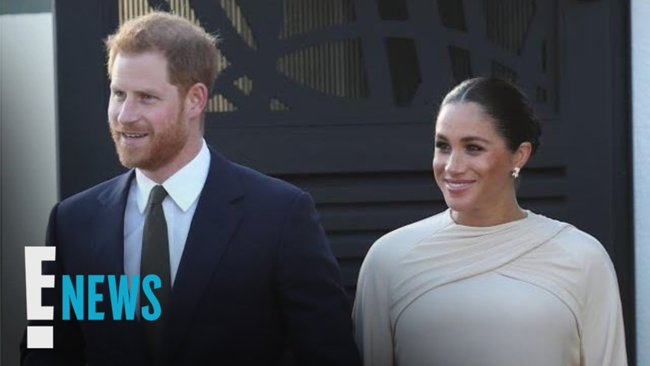 See Meghan Markle & Prince Harry's Romantic Moment | E! News