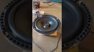 Subwoofer Bass Test | 4440 ic Amplifier Bass Test