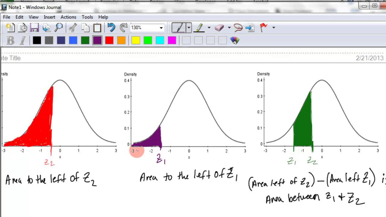 normal distribution excel