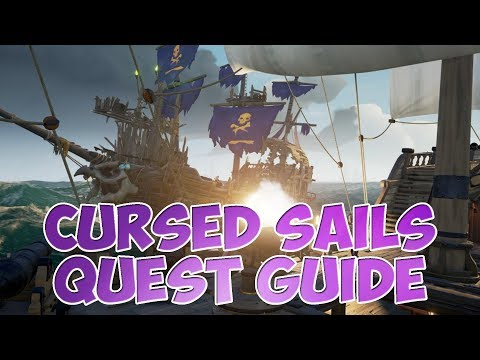 CURSED SAILS QUEST GUIDE / WANDA'S QUEST / SEA OF THIEVES