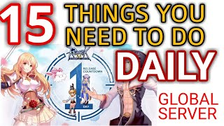 15 daily things to do in Ragnarok M: eternal love GLOBAL/sea (NEWBIE FRIENDLY GUIDE)