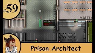 Prison architect part 59 - staff like to eat outside