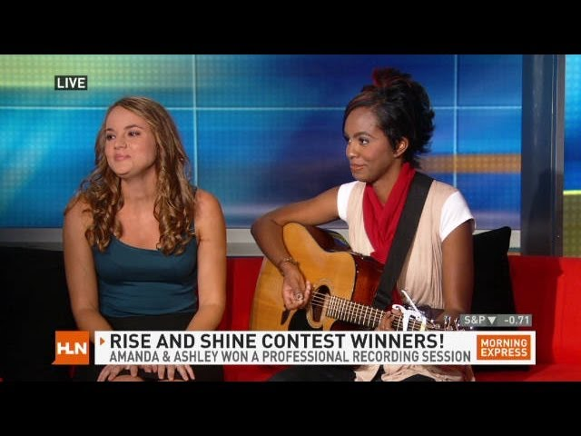 Morning Express with Robin Meade song contest WINNERS!!!