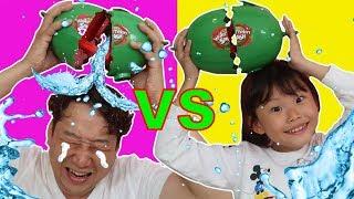 라임가족 수박깨기 보드게임 대결 놀이 LimeTube & watermelon smash challenge