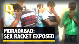 The Quint: Moradabad: Sex Racket Exposed, 12 Boys and 7 Girls Arrested