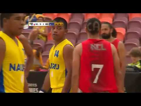 Pacific Games  2015 BASKETBALL MEN G17 NAURU vs NEW CALEDONIA