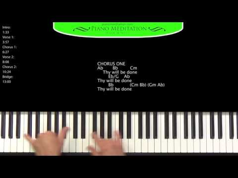 Thy Will (Hillary Scott) - How to Play on the Piano