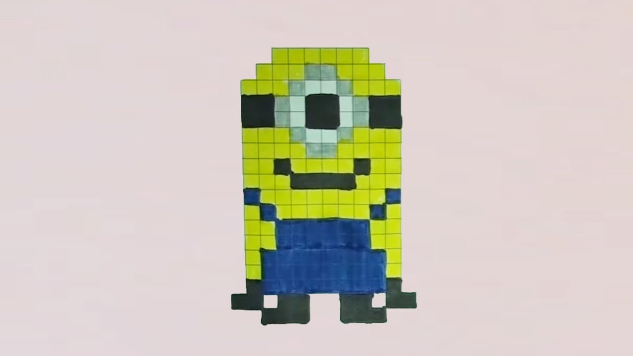 Comment Dessiner Un Minion Pixel Art
