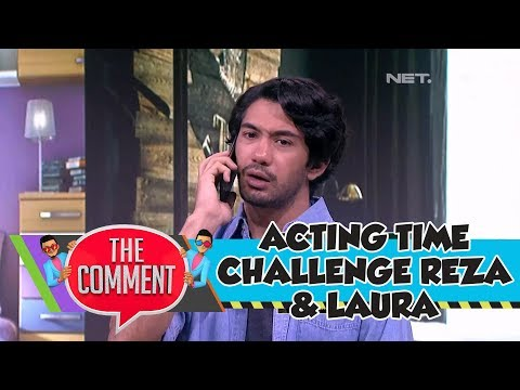 Acting Time Challenge Seru Bareng Reza Rahadian dan Laura Theux (1/4)