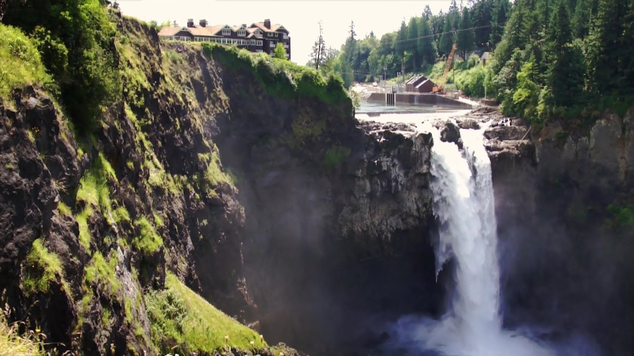 Snoqualmie Falls The Great Northern Hotel Of Twin Peaks