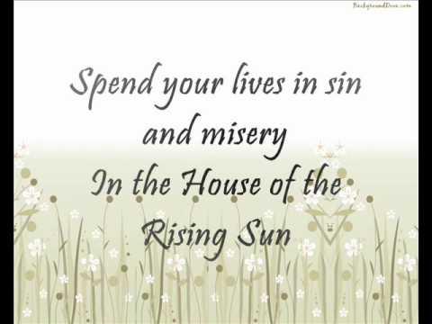 House of the Rising Sun (Lyrics) - Haley Reinhart