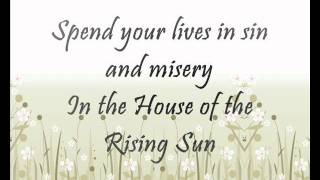 House of the Rising Sun (Lyrics) - Haley Reinhart