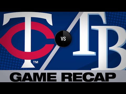 5/30/19: Rays score 11 runs in 2 frames to beat Twins